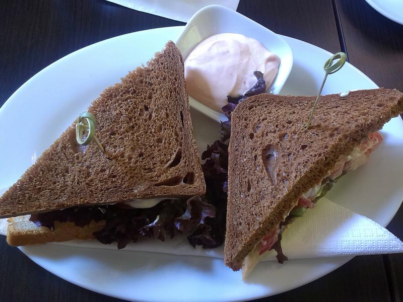 Cacao Prague - sendvič