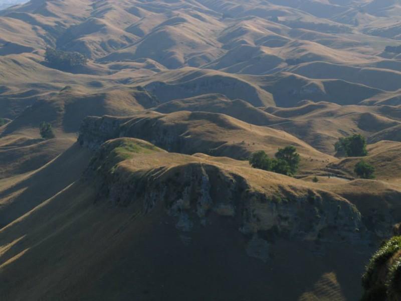 Krajina parku Te Mata.