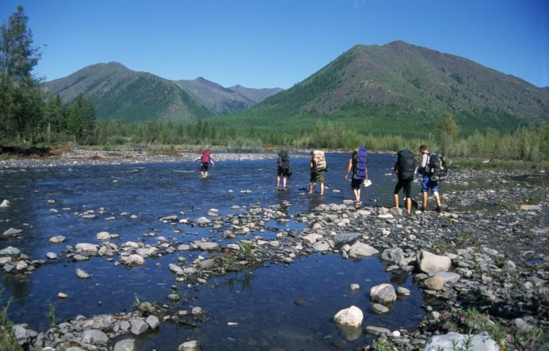 Východní Sibiř, Jakutsko, trek ve Verchojanském pohoří