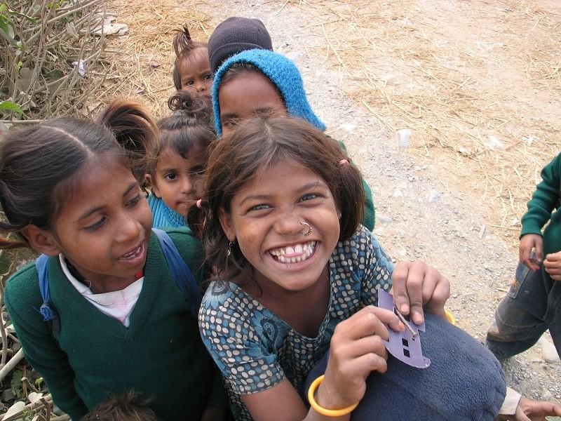 Děti v Indii