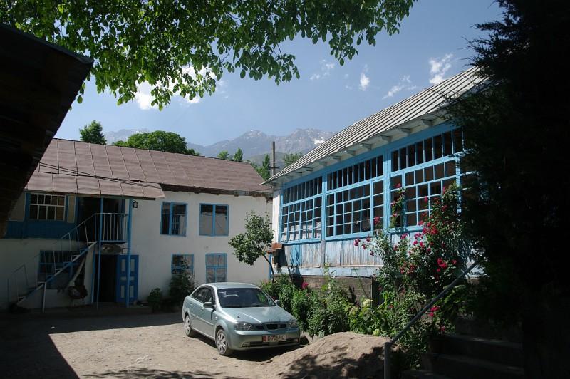 Místní architektura, Kyrgyzstán