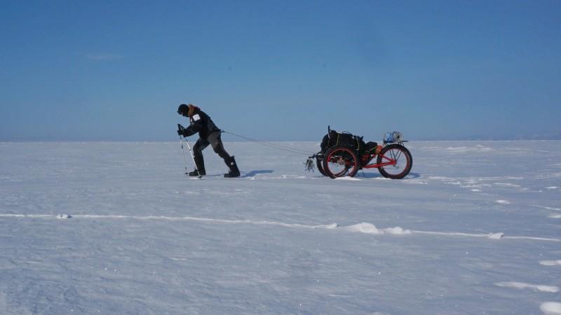 Cesta na Bajkal v zimě