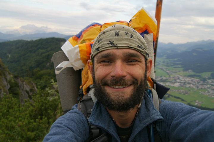 Petr Hirsch, PouTnik, Cesta, Kolem světa, pěšky