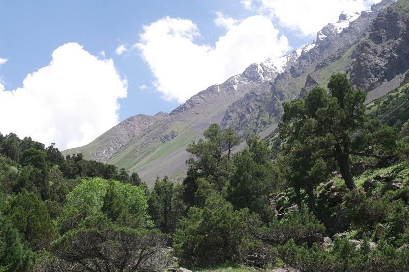 Severní svahy Alajského hřebene, Kyrgyzstán