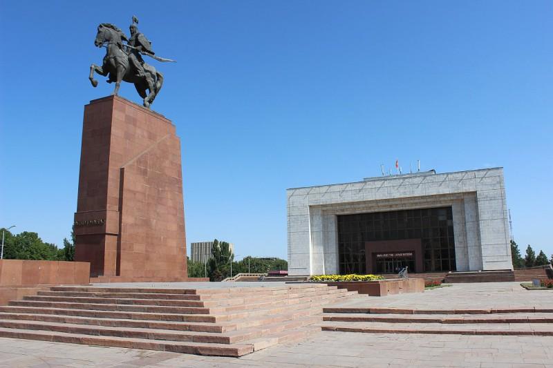 Kyrgyzstán, Biškek