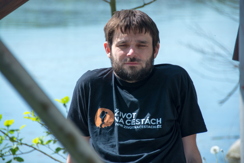 Petr Hirsch si s námi vyšlápnul i pochod Praha - Prčice.