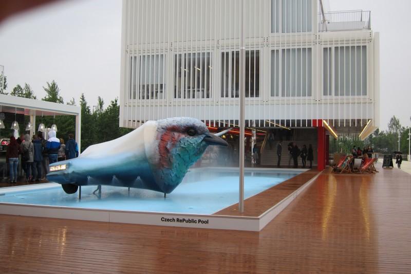 Czech RePublic Pool, český pavilon, Expo 2015