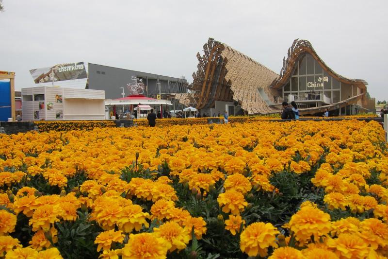 Čínský pavilon, Expo 2015