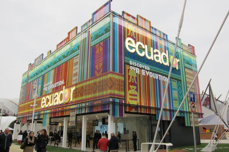 Ekvádorský pavilon, Expo 2015