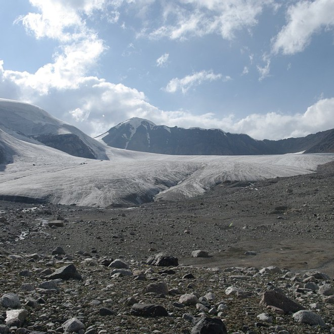 Těrskej Alatau, Kyrgyzstán