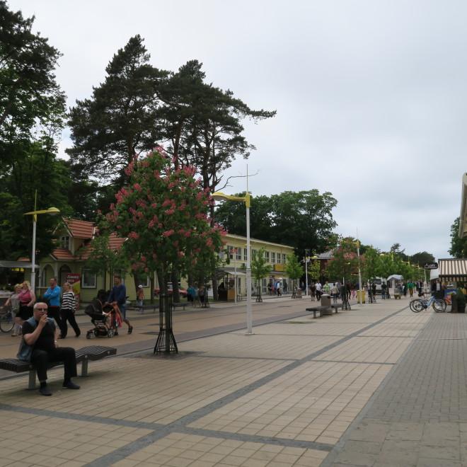 Pěší zóna v Palanze