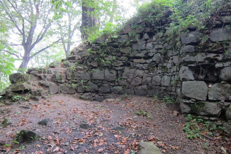 Zbytky hradeb, Obřany