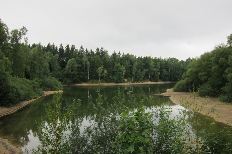 Jedno z příjemných zákoutí Jablonecké přehrady