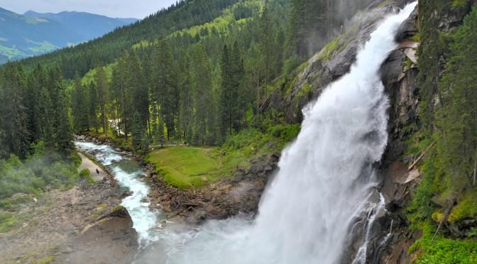 Nejvyšší vodopády Evropy, Krimmelské vodopády v Rakousku
