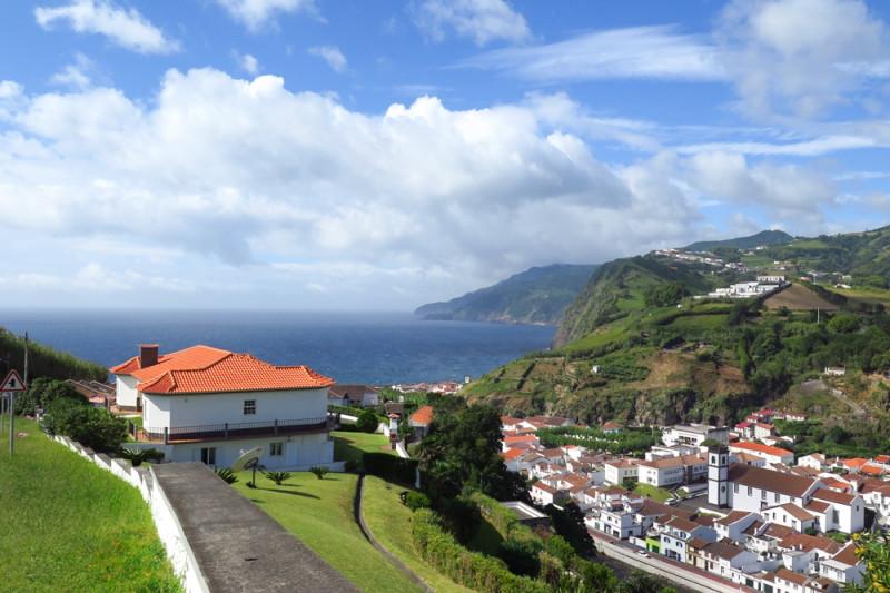 Východní část ostrova – Povocao, Azory.
