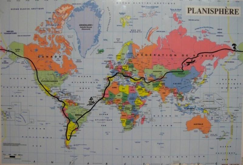 Mapa Caroline Moireaux