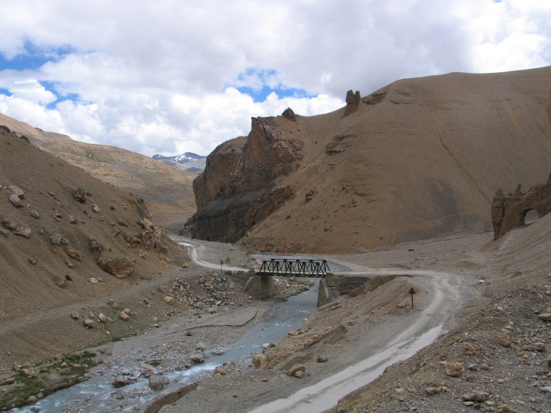Pang. Leh - Manali Highway.
