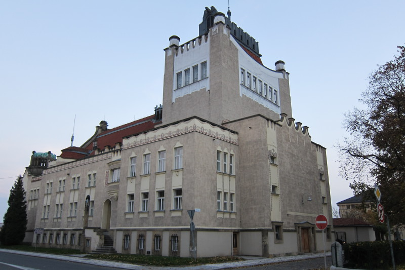 Národní dům v Prostějově, autor : Jan Kotěra