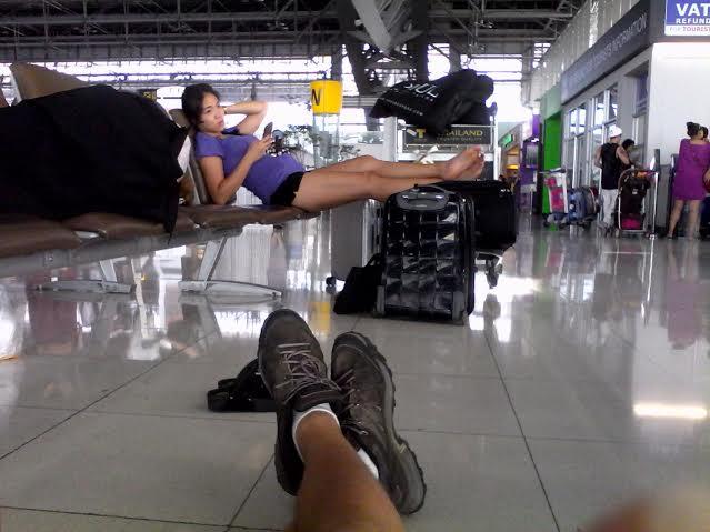 Odpočinek v Bangkoku.