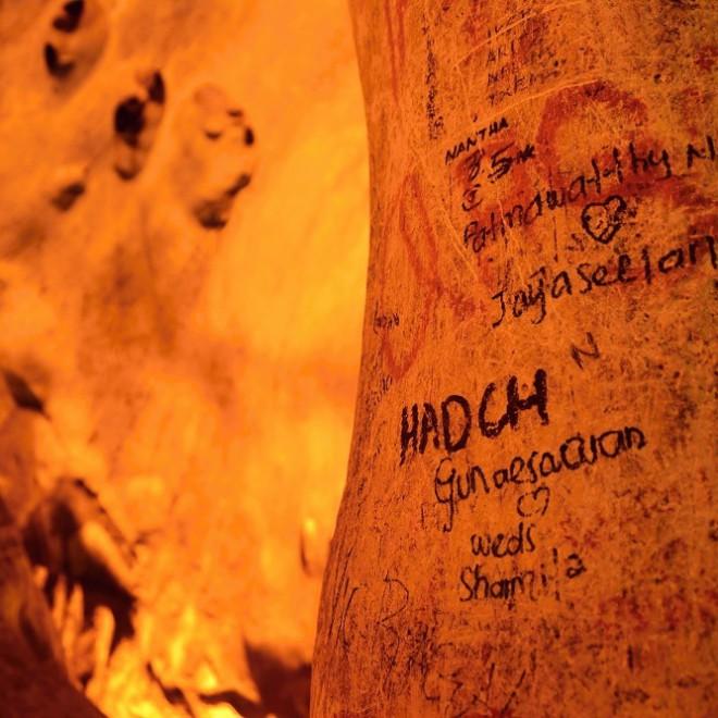 Batu Caves Mahabharata Caves