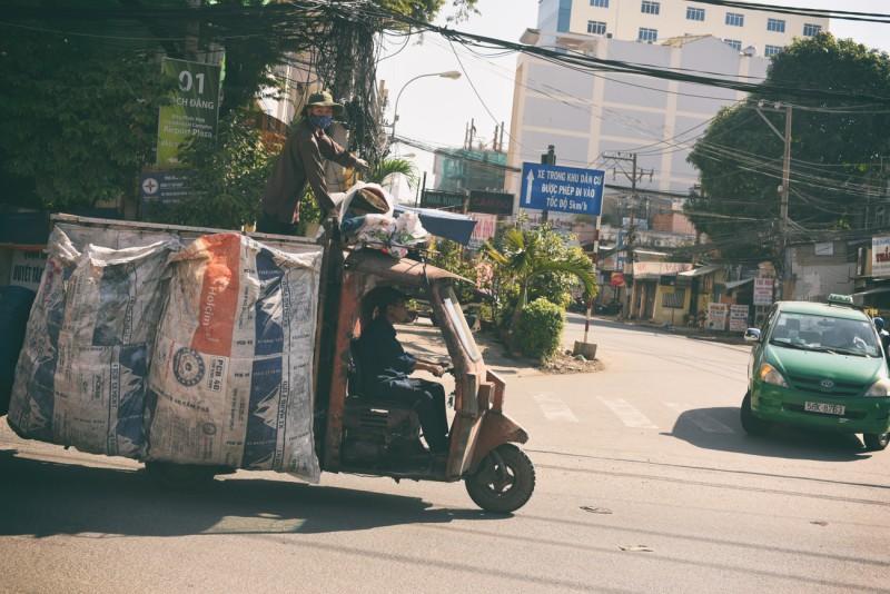Popeláři v Saigonu