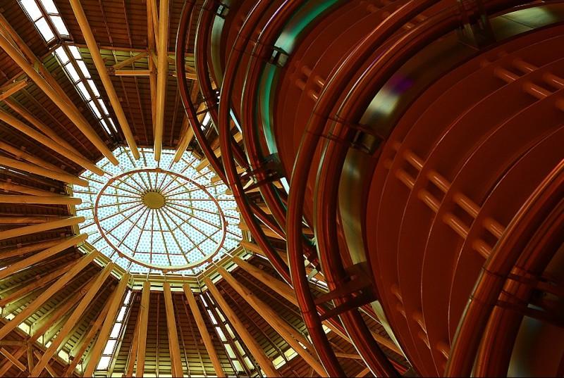 Interiér Petronas Towers, Kuala Lumpur, Malajsie