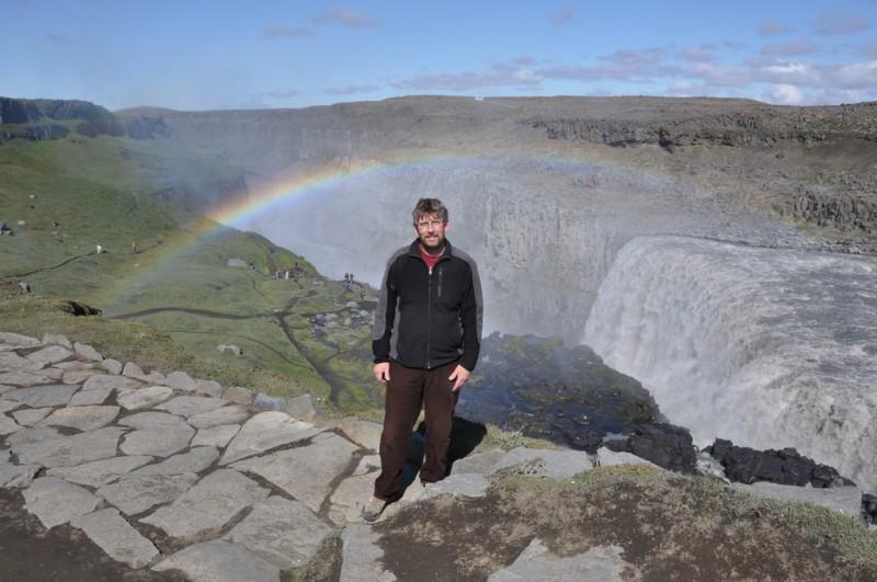 Bob Stupka na Islandu (Dettifoss)