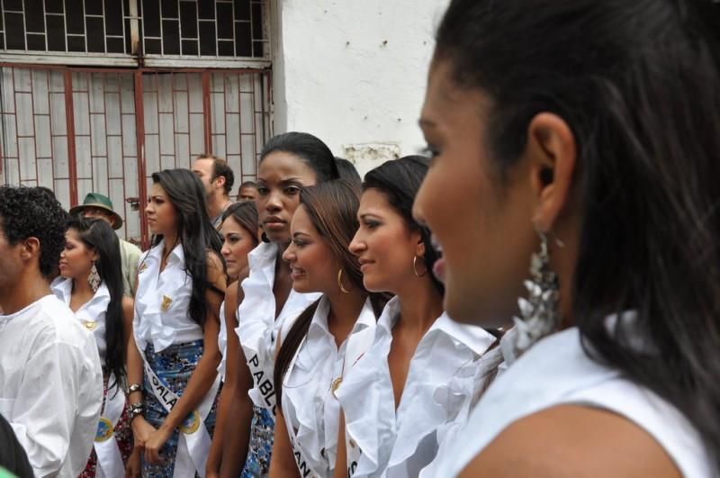 Volba Miss v kolumbijské Cartageně