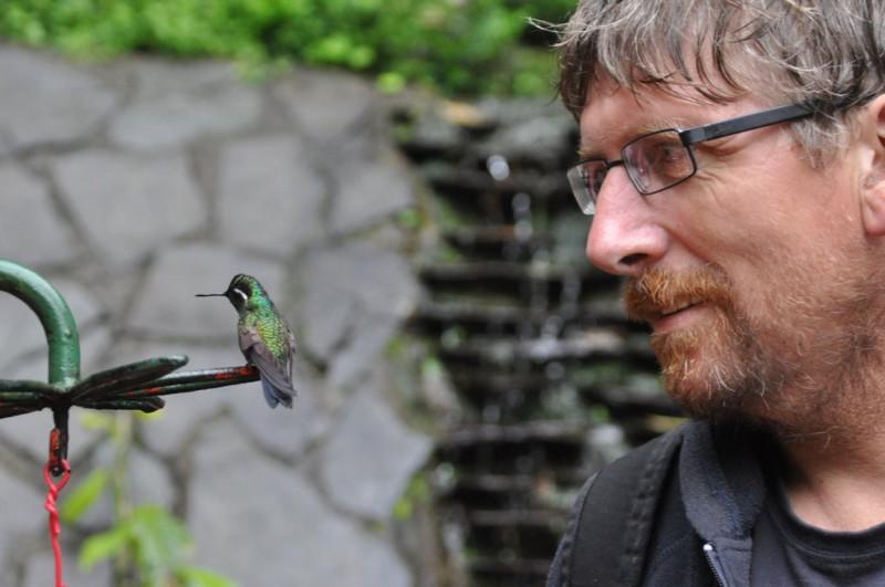 Bob Stupka v kostarickém národním parku Monte Verde