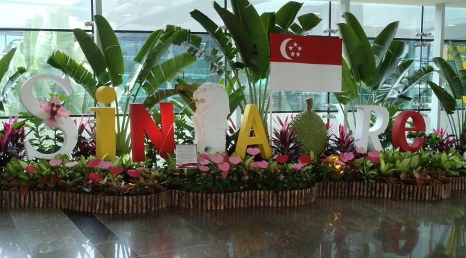 Vítejte v Singapuru