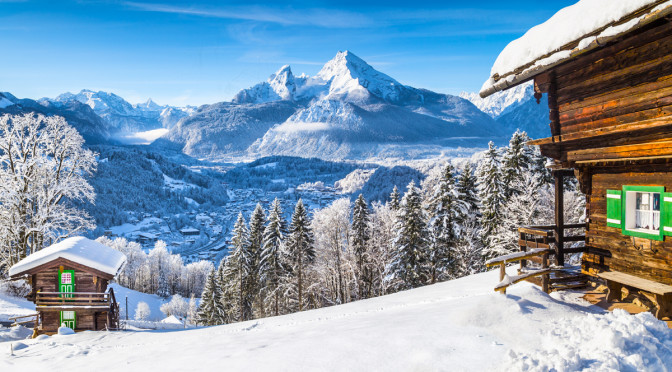 Lyžování v Alpách je nejlepší v zimě. Která střediska jsou favority pro vás