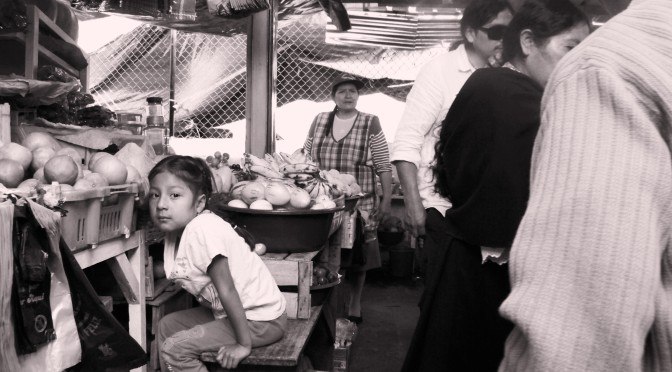 Tajemství kouzla ibarrského mercada v Ekvádoru