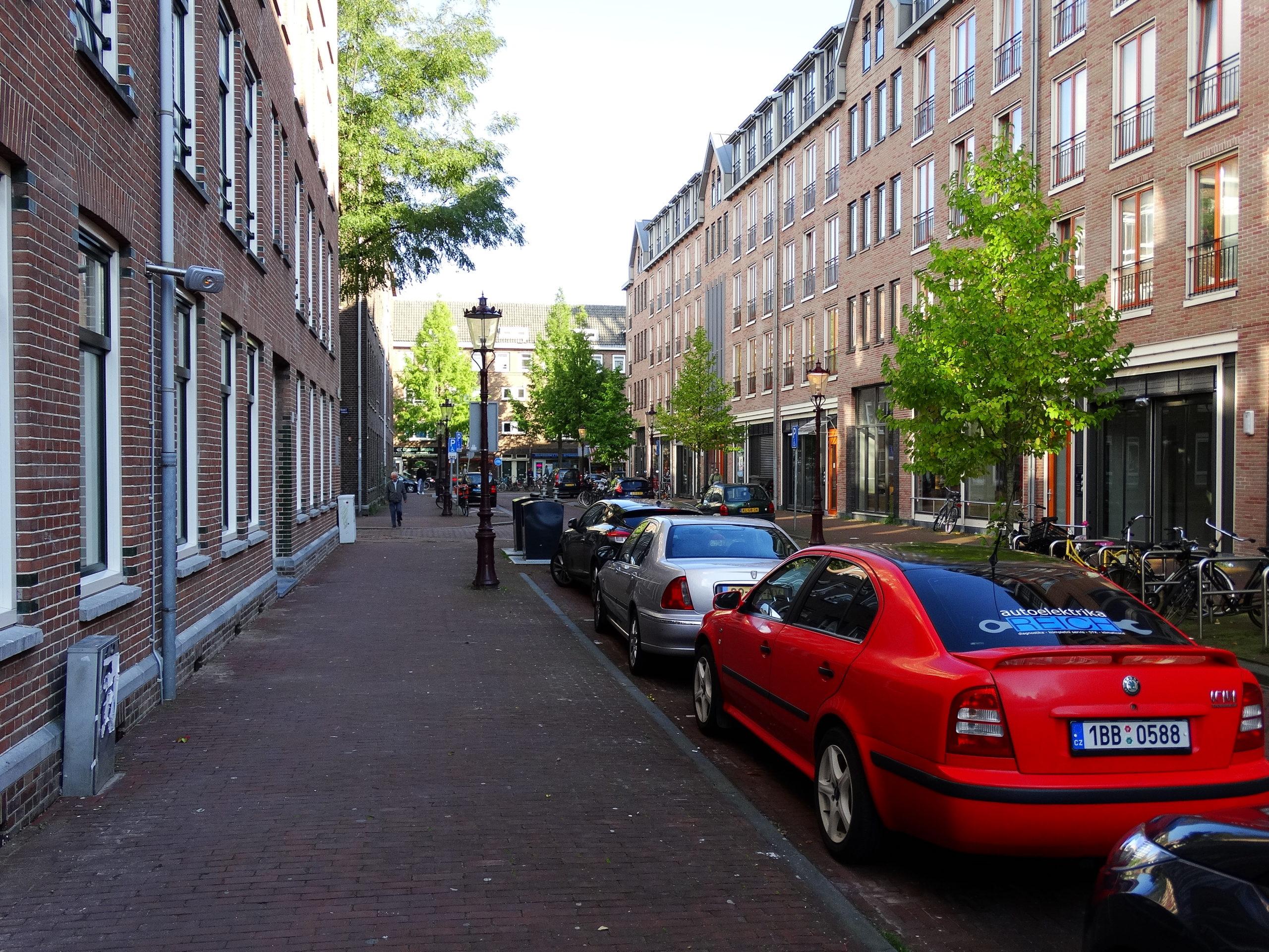 Amsterdam muzeum projet na kole
