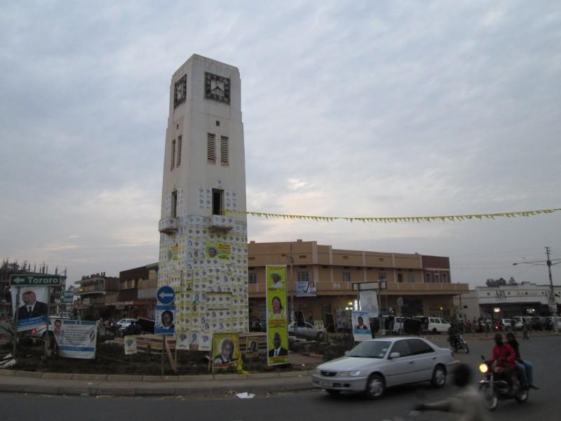Náměstí v Mbale