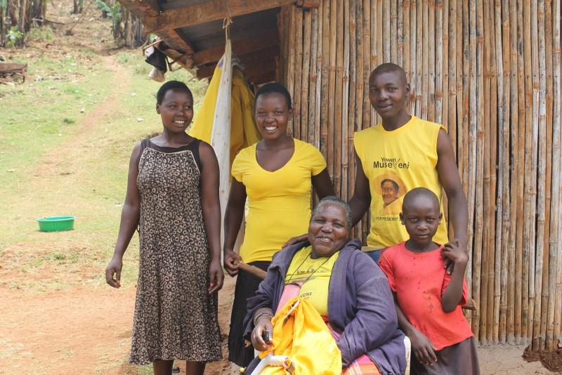 Podporujeme Museveniho.