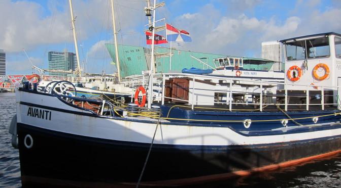Ubytování na lodi Avanti, Amsterdam
