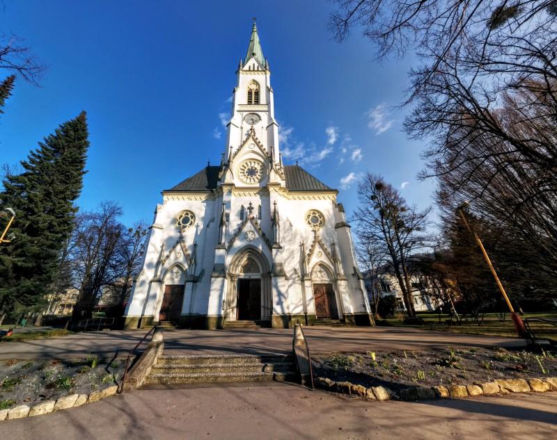 Kostel sv. Bartoloměje v Kopřivnici.