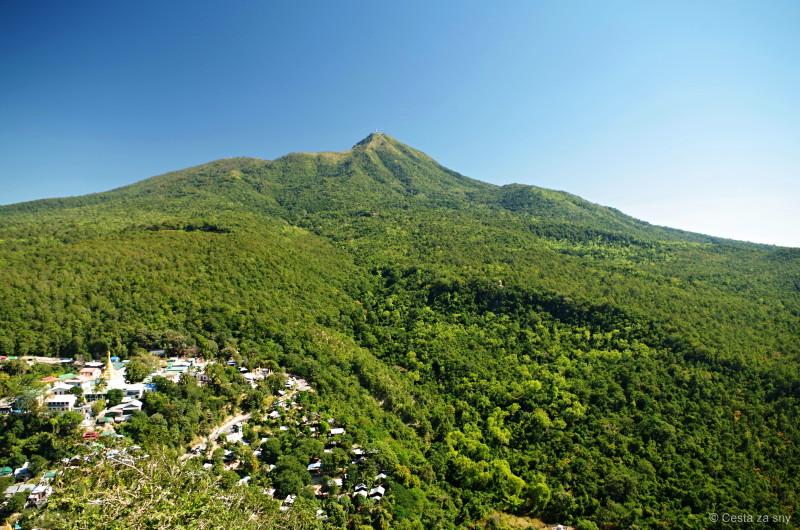 Výhled z Mt.Popa