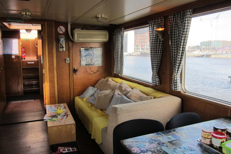 Passengership Avanti - společné prostory