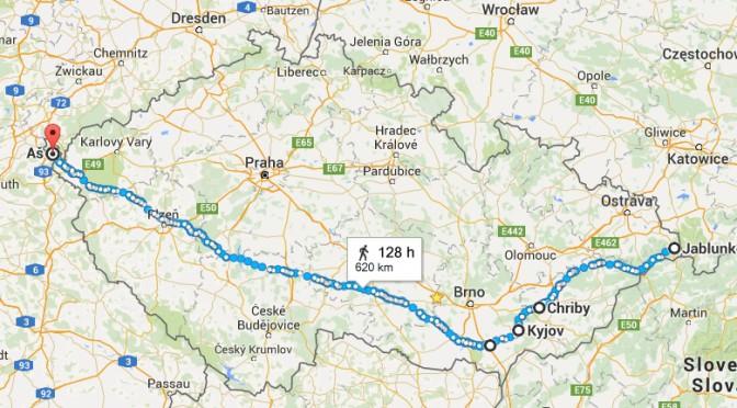 Pěšky pro Matěje – 11 dní, 350 km za sebou