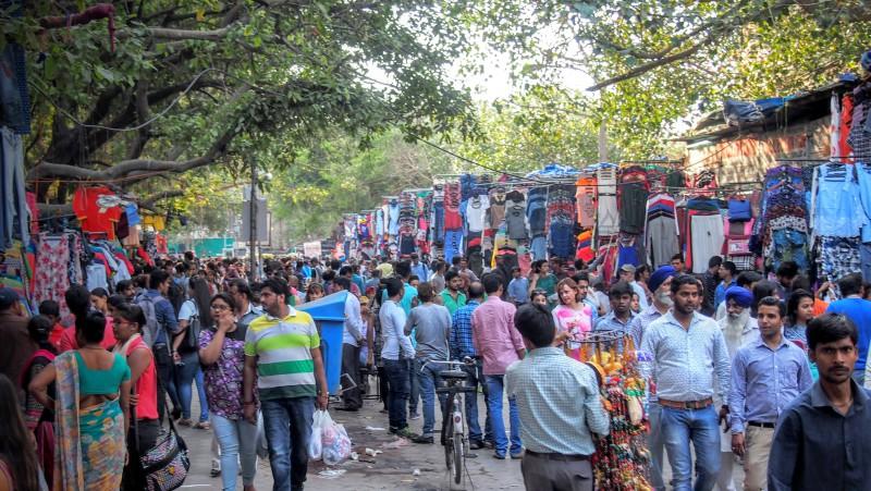 Dillí, centrální tržnice