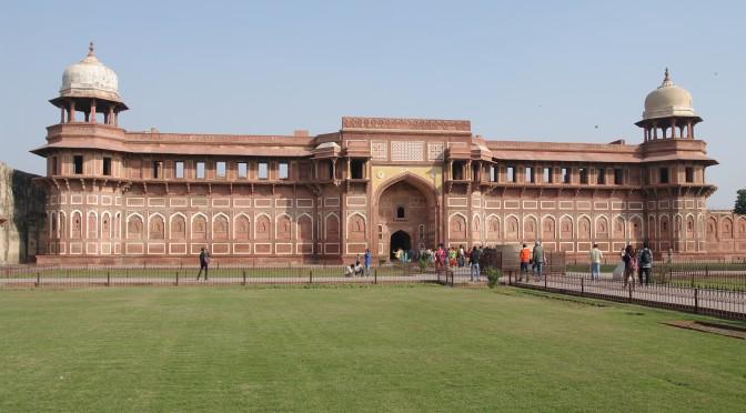 Agra – mughalské císařské město