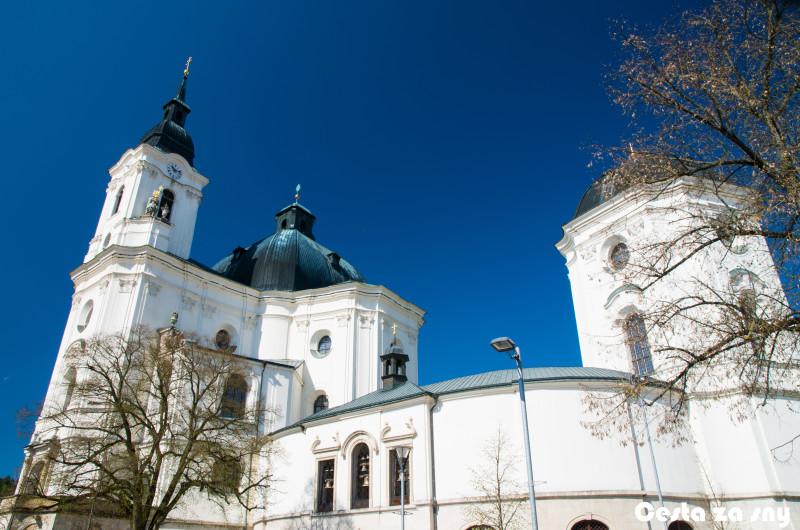Kostel sv.Jakuba ve Křtinách