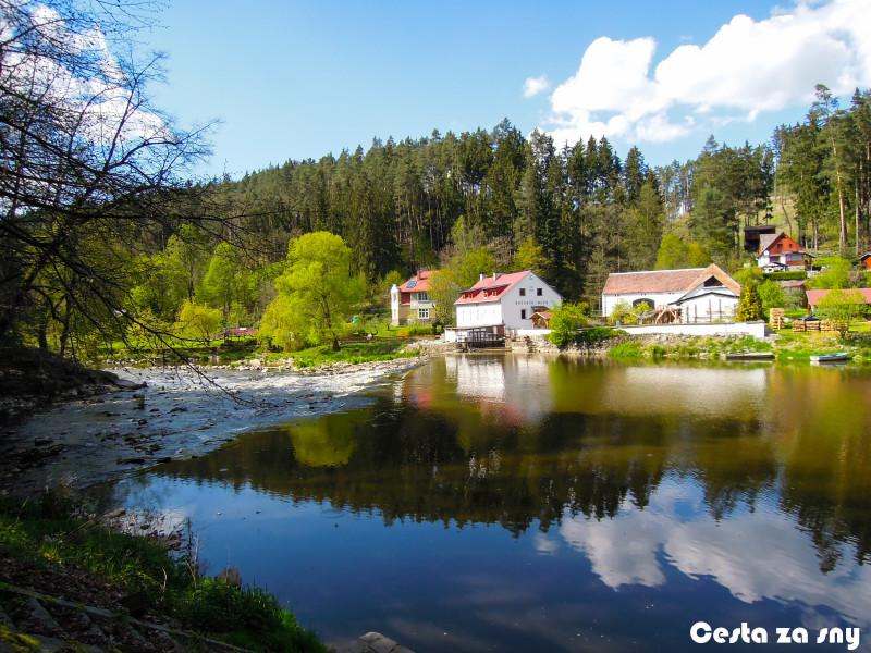 Krásné okolí řeky Lužnice