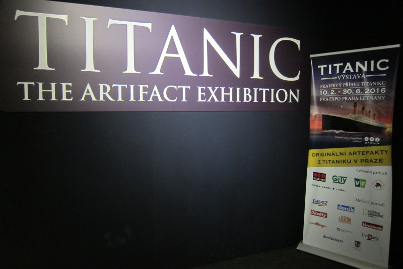 Výstava Titanic v Praze (PVA Expo Letňany)