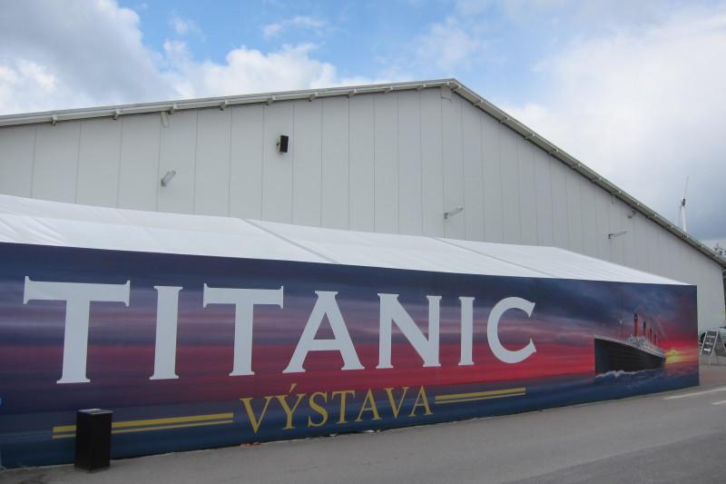 Výstava Titanic