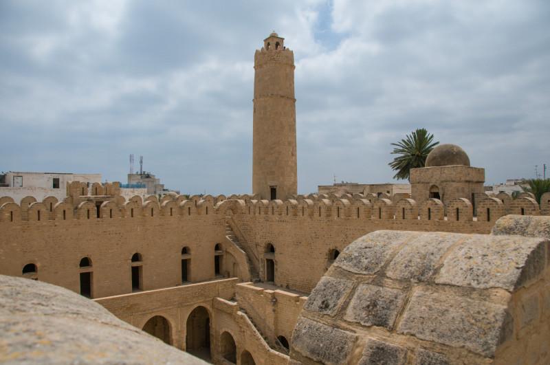 Navštívili jsme také pevnost Ribat ve městě Sousse, která byla vybudovaná v roce 821.
