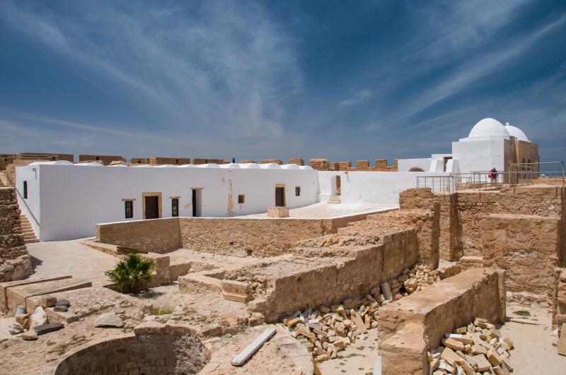 Náhled do vnitřního prostoru pevnosti Ghazi Mustapha.