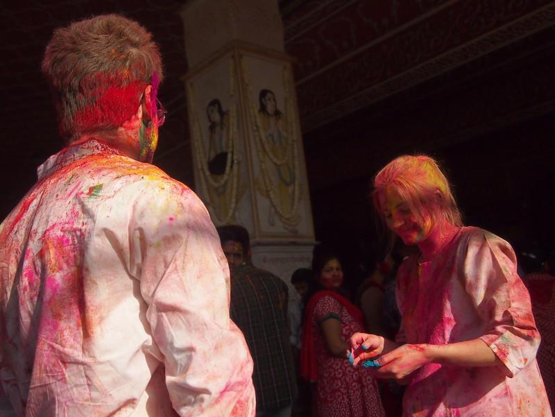 Festival Holi plný barev