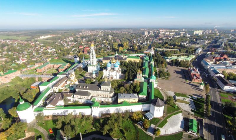Sergijev Posad – areál kláštera